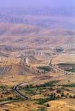 1993 North Iraq - Kurdistan. Landscape near the iranian border Royalty Free Stock Photo