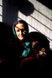 1993 North Iraq - Kurdistan. Mother and his son at Sulaymaniyya Stock Photography