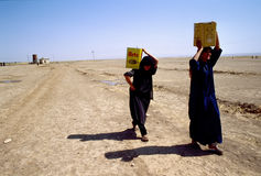 1993 North Iraq - Kurdistan Stock Photo