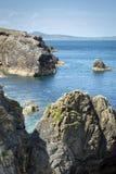North Ireland rocky bay Stock Photos