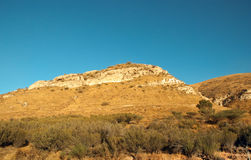 North Israel . Mountain in the Galilee from north to west . Israel royalty free stock photos