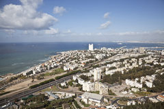 Panorama Haifa, Israel. Royalty Free Stock Images