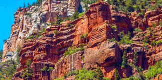 North Kaibab Trail in Grand Canyon National Park, Arizona, United States of America.  stock photography