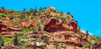 North Kaibab Trail in Grand Canyon National Park, Arizona, United States of America.  stock images