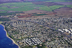 North Kihei Maui Aerial Stock Photo