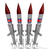 North Korea, missiles Royalty Free Stock Image