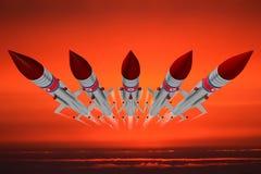 North Korea, missiles Royalty Free Stock Photos