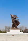 North Korea, Pyongyang, April, 2012 - Central Memorial and Museum of the Patriotic War of Liberation Stock Photography