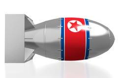 North Korea, atomic bomb Royalty Free Stock Image