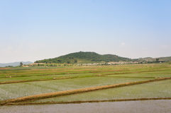North Korean Countryside Royalty Free Stock Image