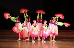 North Korean dancing royalty free stock photo