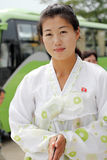 North Korean Female 2013 Royalty Free Stock Photography