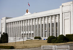 North Korean People's Chamber Stock Photo