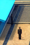 North-Korean soldier, Panmunjon, North-Korea Stock Photo