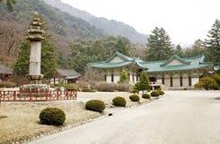 North Korean temple. Samantabhadra Temple Royalty Free Stock Image