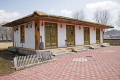North Korean traditional house Royalty Free Stock Photography