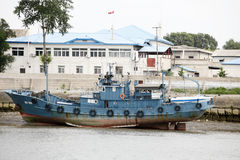 North korean wharf  Stock Photos