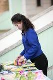 North Korean woman Royalty Free Stock Photo