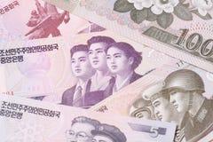 North Korean Won Royalty Free Stock Photography