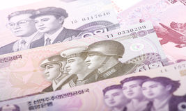 North Korean Won Stock Images
