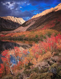 North Lake by Bishop Atumn Colors Stock Image