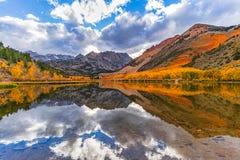 Free North Lake Fall Colors Reflections Royalty Free Stock Photography - 162449107