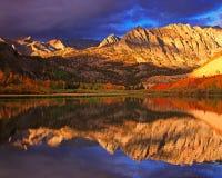 North Lake Reflection. North Lake is a lake neary Bishop California Stock Images