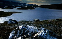 North land. From high north land Scandinavian Stock Photography