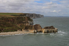 North Landing, Flamborough head. Stock Photography