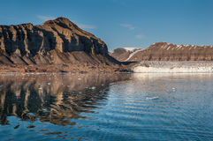 North landscape, Svalbard, Spitsbergen Stock Photos