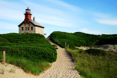 North Light, Block Island, RI Royalty Free Stock Photo