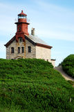 North Light, Block Island, RI Stock Photo