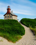 North Light, Block Island, RI Royalty Free Stock Images