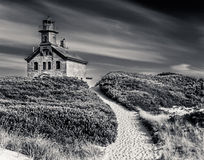 North Light, Block Island, RI Royalty Free Stock Photography