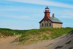 North Light, Block Island, RI Stock Photo