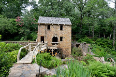 North Little Rock Historic Old Mill. North Little Rock Old Mill is listed on the National Register of Historic Places royalty free stock image