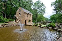 North Little Rock Historic Old Mill Royalty Free Stock Photos