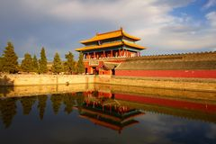 North main gate of forbidden city, Beijing Stock Images