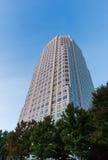 100 North Main in Winston-Salem. 100 North Main Building in downtown Winston-Salem, North Carolina royalty free stock photography