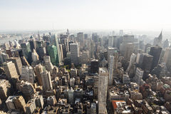 North Manhattan View, editorial Royalty Free Stock Images