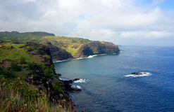 North Maui Coastline looking West Stock Photography