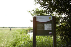 North Meadows National Nature Reserve Stock Photo