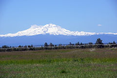 North and Middle Sister Royalty Free Stock Images