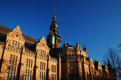 North museum, Stockholm. The museum of Northern culture, Stockholm stock photography
