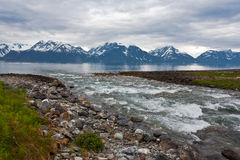 North norway landscape. Stock Photography