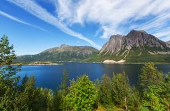North Norway Royalty Free Stock Photo