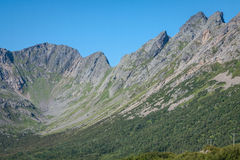 North Norway landscapes Royalty Free Stock Photo