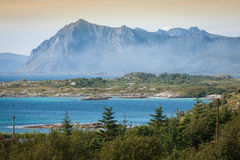 North Norway landscapes Royalty Free Stock Image