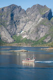 North Norway landscapes Royalty Free Stock Photos