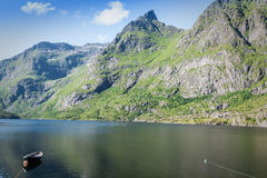 North Norway landscapes,Scandinavia. Royalty Free Stock Photography
